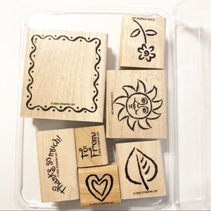 Stampin' Up Limited Edition 2001 Framed Fun Set